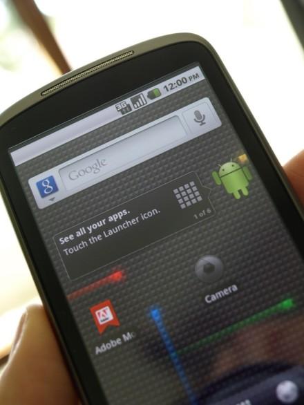 Nexus One s Android 2.2 Froyo